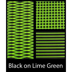 HYDROTURF SHEET BLACK ON LIME GREEN