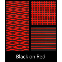 HYDROTURF SHEET BLACK ON RED