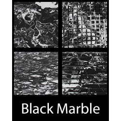 HYDROTURF SHEET BLACK MARBLE