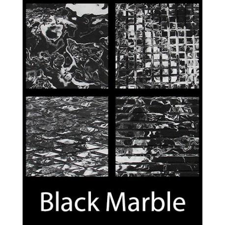 FEUILLE TAPIS HYDROTURF BLACK MARBLE