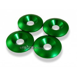 8MM BILLET CONICAL WASHERS