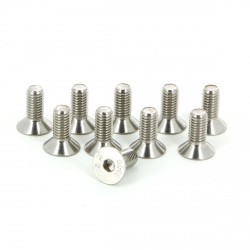 STAINLESS SCREW FHC M8X20