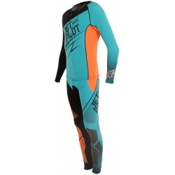 COMBINAISON JETPILOT MATRIX 3 TEAL/ORANGE