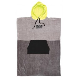 PONCHO OCEAN EARTH LIME