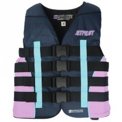 LADIES NYLON LIFE JACKET JET PILOT 2018