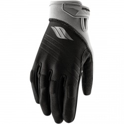 SLIPPERY GLOVES CIRCUIT BLACK/SILVER