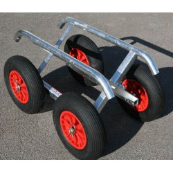 REMOVABLE BEACH TROLLEY 4 WHEELS